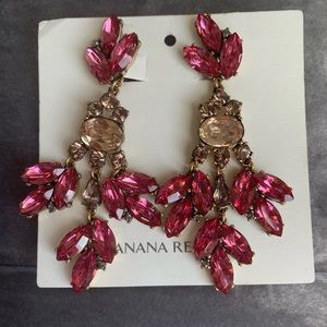 Banana Republic clip on earrings.